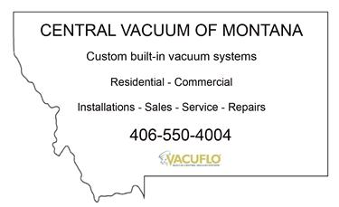 Vacuum Repair / Service - Central Vacuum of Montana